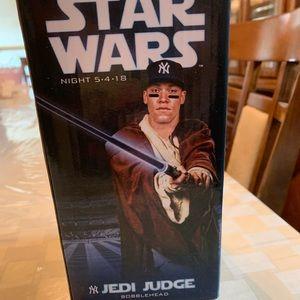 Aaron Judge Jedi edition bobblehead